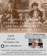 Between House and Orchard poster