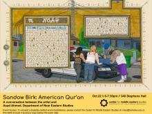 Poster: Sandow Birk: American Qur'an